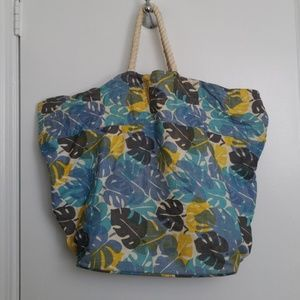 Handbags - Over sized linen bag - great for the beach